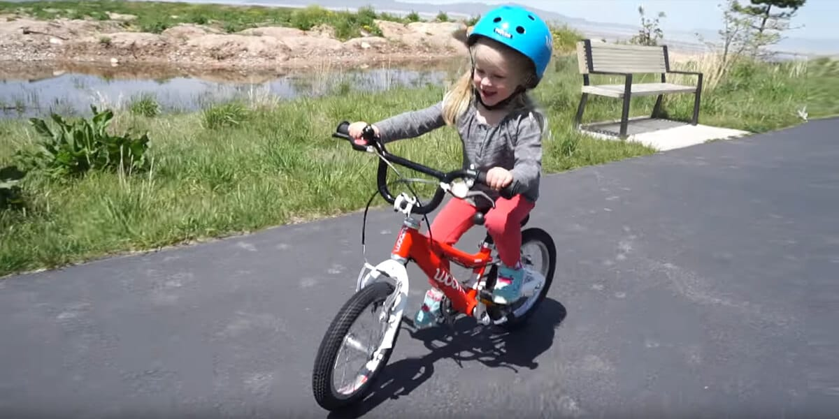 How do I know when my toddler is ready for a pedal bike