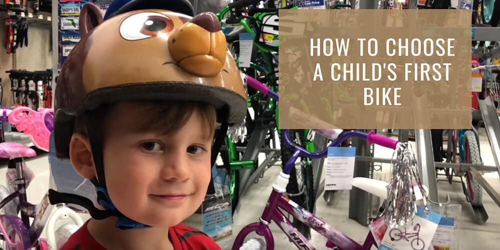 How to choose a child's first bike