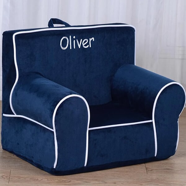 Personalized toddler Chair upholstered