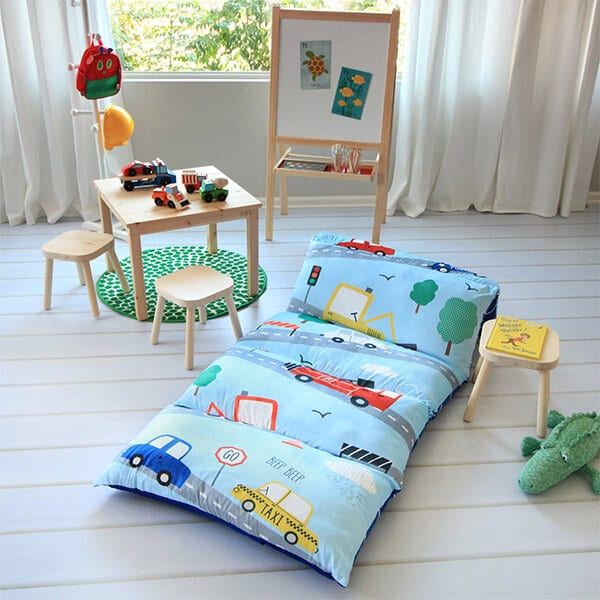 Butterfly Craze Kid's Floor Pillow Bed Cover review