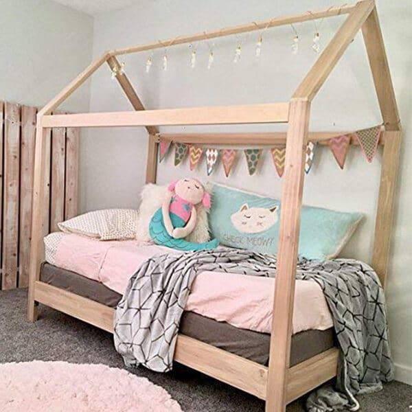 House Bed Frame with legs review
