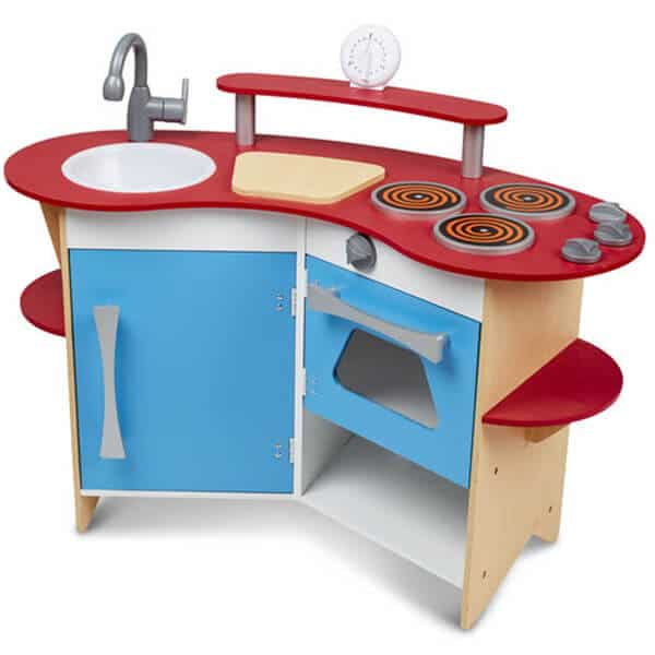 Melissa And Doug Cooks Corner Wooden Kitchen review