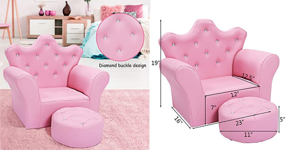 Best princess chair for toddler girl