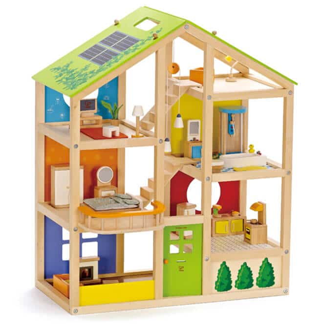 All Seasons Kids Wooden Dollhouse review