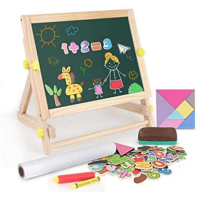 BeebeeRun Kids Tabletop Easel review