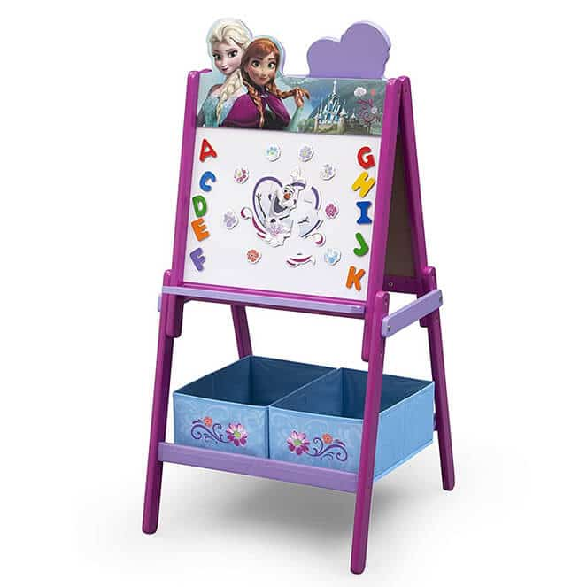 Delta Children Wooden Double-Sided Kids Easel review