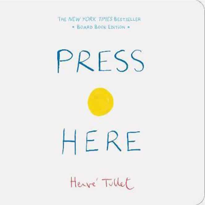 Press Here Board book